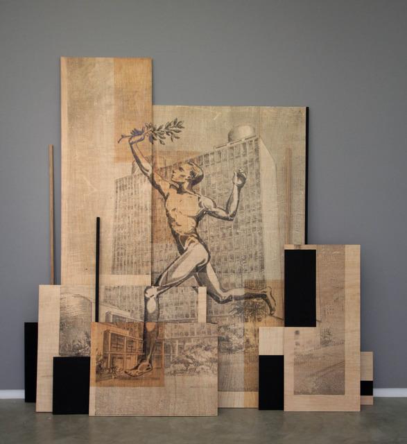 , 'Esses tempos (MECD.N.E. 1937-1957),' 2014, Silvia Cintra + Box 4