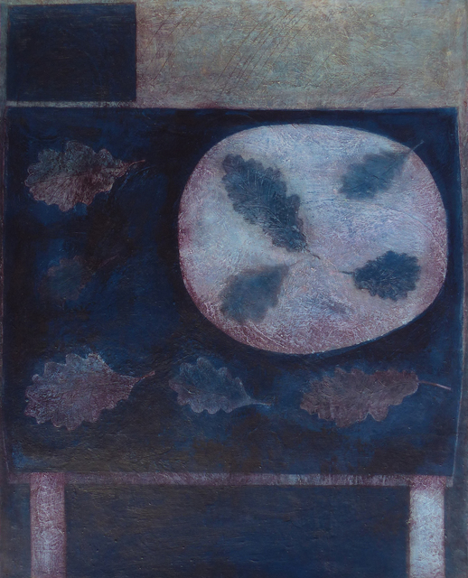 , 'Dark Oak Leaf Table,' 2018, Thackeray Gallery