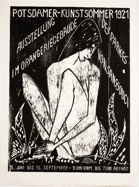 Otto Mueller, 'Potsdamer Kunstsommer 1921 - Große Sitzende', 1921/2007, Galerie Thomas