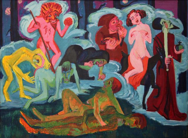 , 'Die Erscheinung der Sieben im Eulenspiegel ,' 1923-1924, Henze + Ketterer
