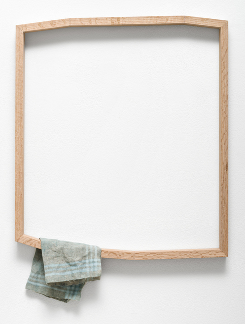 , 'Everyday Relic (Frame with Handkerchief),' 2017, Lora Reynolds Gallery