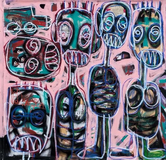 , 'Les enfants et la voiture,' 2017, Out of Africa Gallery