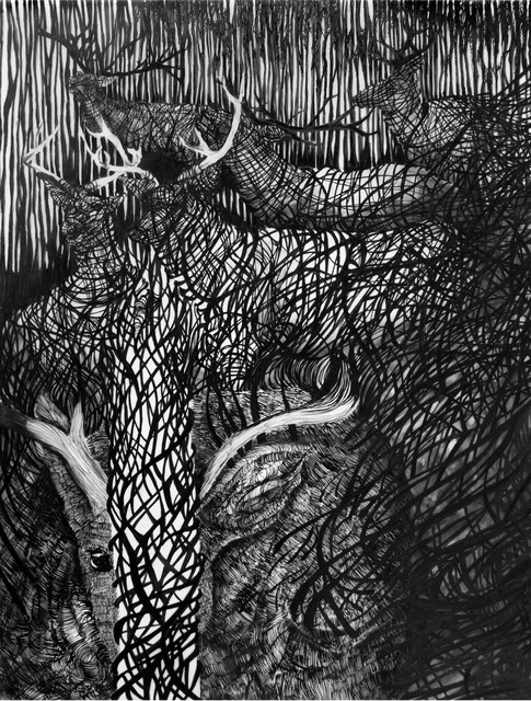 Matt Miley, 'Coils in the Dark / Surface; Cataract Inundate Series', 2013, Galleri Duerr