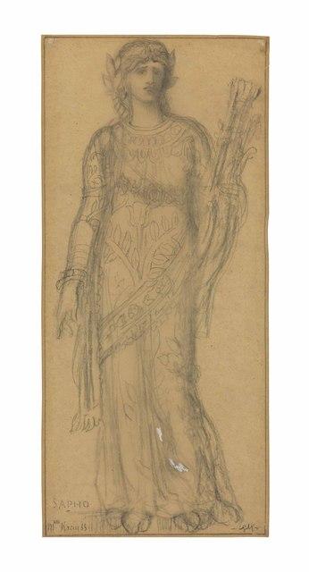 , 'Marie-Gabrielle Krauss as Sappho,' , Christie's Old Masters