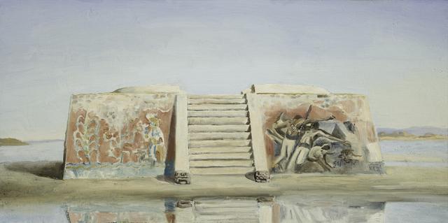 Eric Pérez, 'Dos murales', 2020, Painting, Oil on canvas, Aldama Fine Art