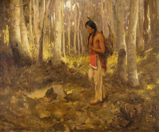 , 'Lone Hunter,' 1907, Addison Rowe Gallery