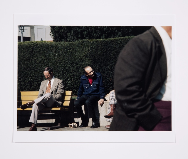 , 'Roberta and Blaine in Union Square, Untitled, Roberta Missing,' 1975, Bridget Donahue
