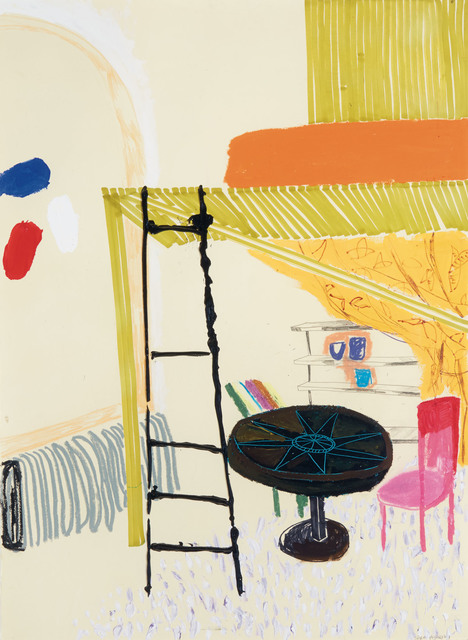 Shara Hughes, 'Drawing for Loft', 2007, Painting, Acrylic, enamel, marker and graphite on paper, Doyle
