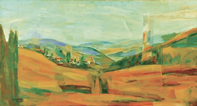 , 'Lebanese Village in the Bekaa Valley,' 2000, Artscoops