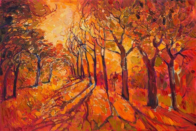 , 'Gilded Path,' 2016, The Erin Hanson Gallery