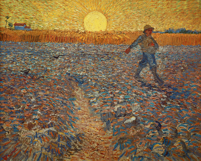 Vincent van Gogh, 'The Sower,' 1888, Erich Lessing Culture and Fine Arts Archive