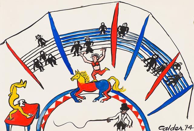 Alexander Calder, 'Chapiteau (Circus Tent)', 1975, Larsen Gallery