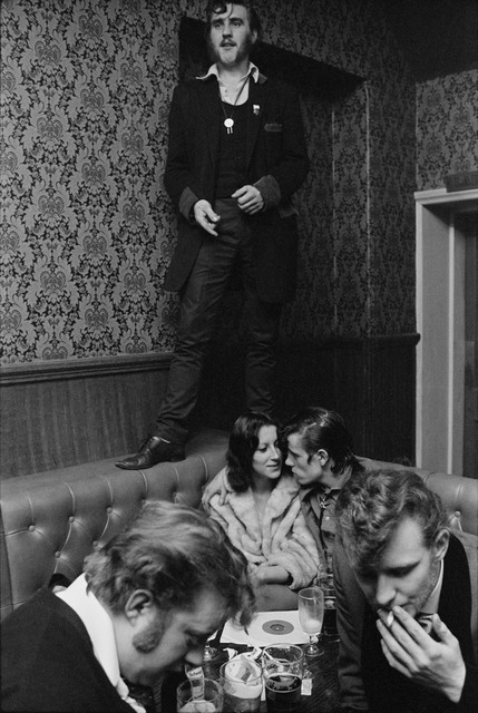 , 'Barry Ransome at The Castle. Old Kent Road, England. ,' 1976, Magnum Photos