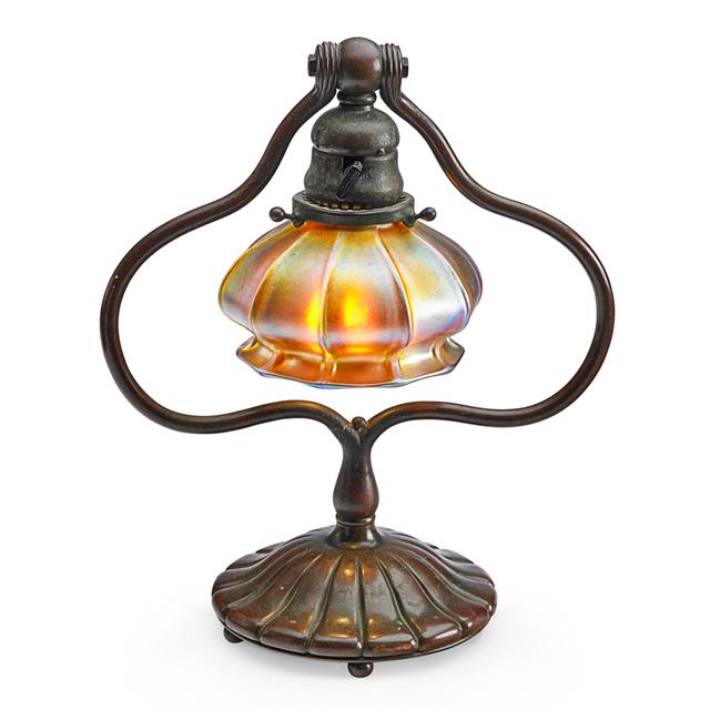 Tiffany Studios, 'Adjustable Desk Lamp With Associated Shade, New York', Early 20th C., Rago/Wright