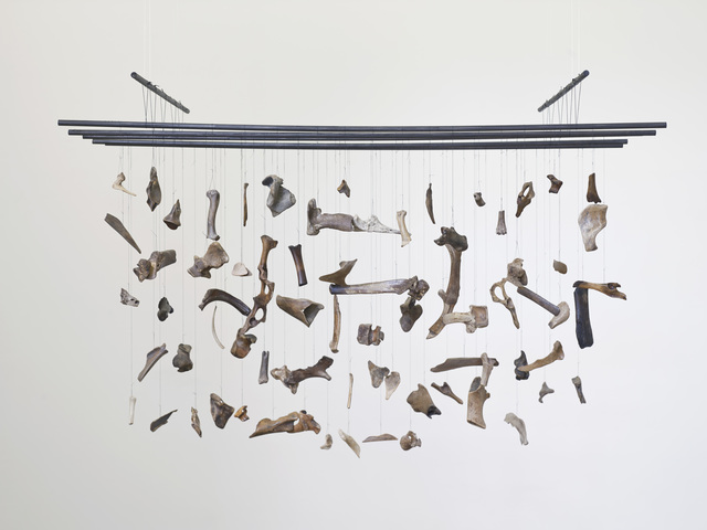 , 'Bones organ composition (Thames),' 2014, Supportico Lopez