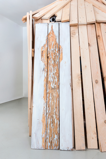 Nestor Engelke, 'WOODEN DESIGN: TOWER 3', 2019, Anna Nova Gallery