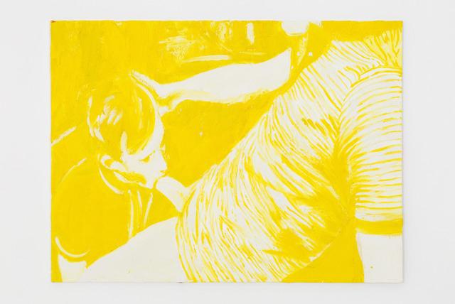 , 'Blow Job (Yellow),' 2014, Nina Johnson