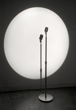 , 'Microphone,' 2007, bitforms gallery