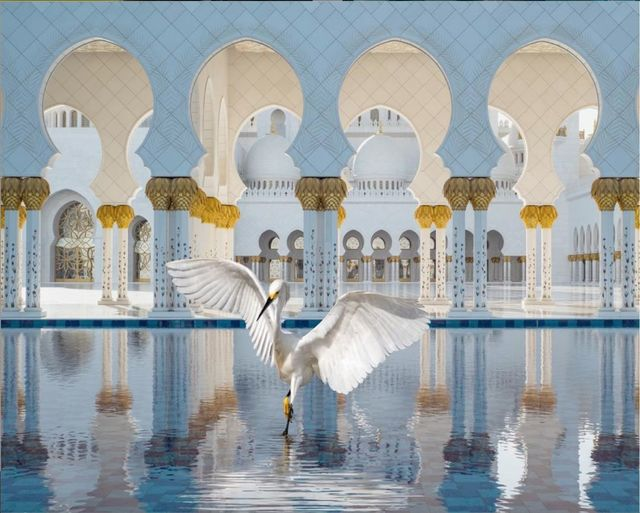 Karen Knorr, 'The Way of Ishq, Grand Mosque, Abu Dhabi', 2019, Photography, Color pigment print on Hahnemühle Fine Art Pearl paper, Sundaram Tagore Gallery