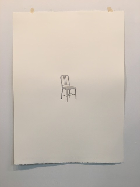 , 'Navy Chair,' 2017, Burnet Fine Art & Advisory