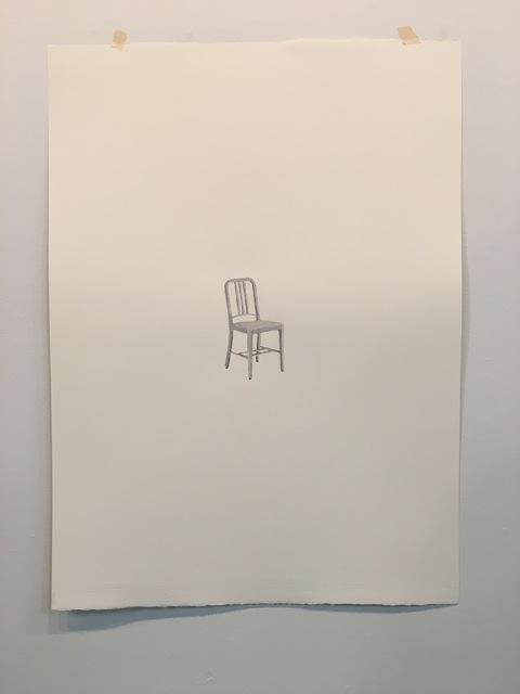 Ryan Hughes, 'Navy Chair', 2017, Burnet Fine Art & Advisory