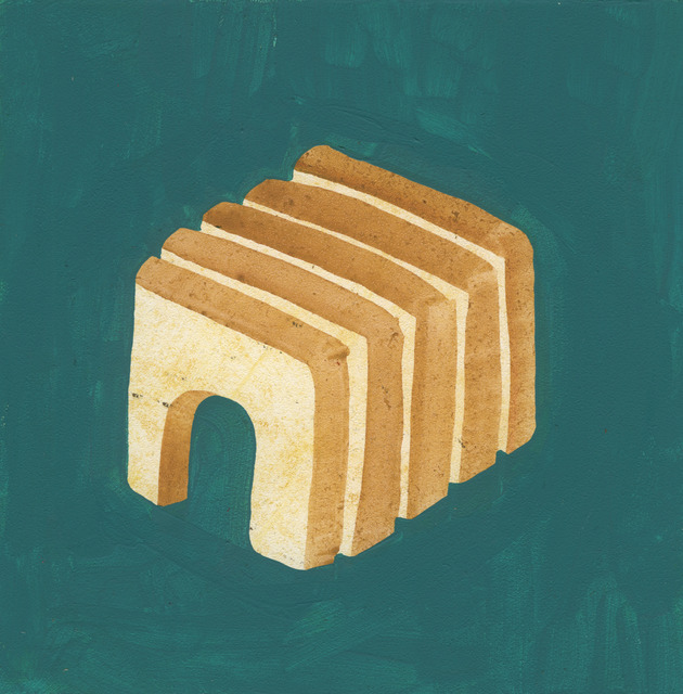 , 'Arched Sliced Bread,' 2015, Court Tree Collective