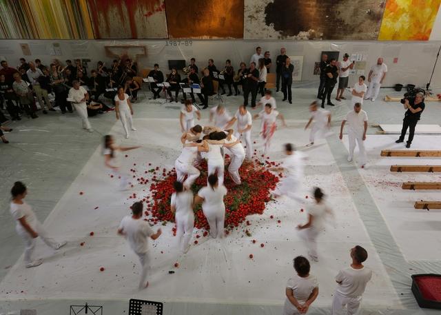 Hermann Nitsch, '155. Aktion, 1.9.2018, Nitsch Museum Mistelbach, Fotograf: Daniel Feyerl', 2018, Galerie Elisabeth & Klaus Thoman