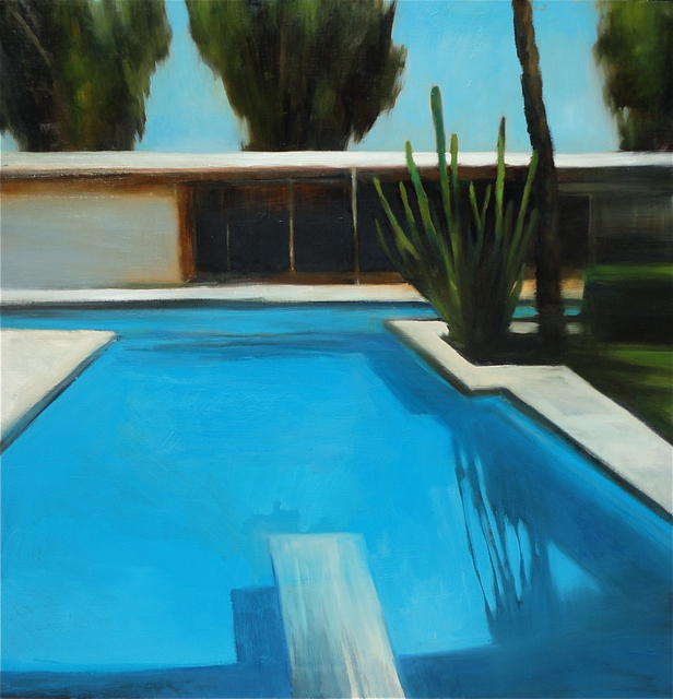 , 'Modern House Pool #2,' 2016, Sue Greenwood Fine Art