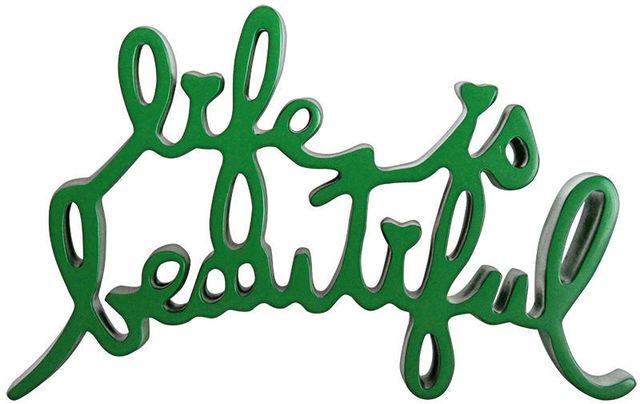 Mr. Brainwash, 'Life Is Beautiful Sculpture (Green)', 2013, MSP Modern