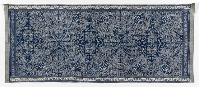 'Shouldercloth or headcloth (20th century) (Kain batik tulisan Arab)', National Gallery of Victoria