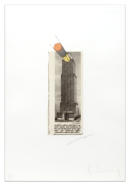 Claes Oldenburg, 'Equitable Building As a Pencil Sharpener', 1995, Krakow Witkin Gallery