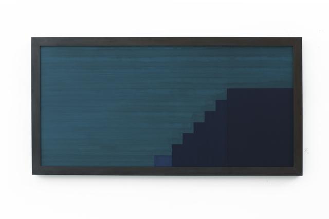 , 'Sintropic Maze - series I (Corner 2) - Blue,' 2016, Zipper Galeria