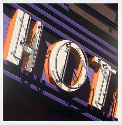 Robert Cottingham, 'Hot', 2009, Print, Silkscreen, Kunzt Gallery