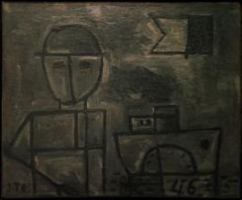 Joaquín Torres-García, 'Grafismo de Figura y Barco', 1946, Mana Contemporary