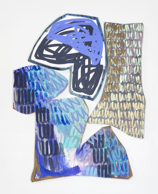 , 'Bookend 5,' 2018, Denny Gallery