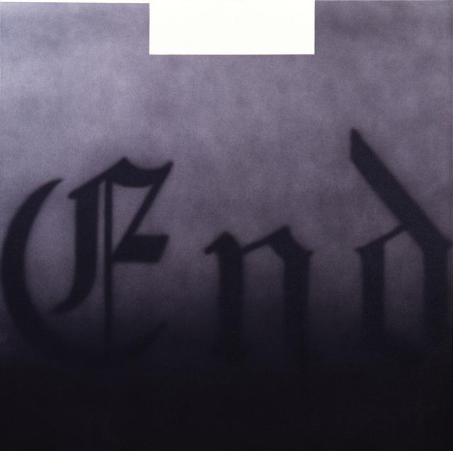 , 'End,' 1993, Gagosian