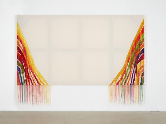 , 'Abstract Weave / Morris Louis Alpha Upsilon 1960 NB001-01,' 2014, carlier | gebauer