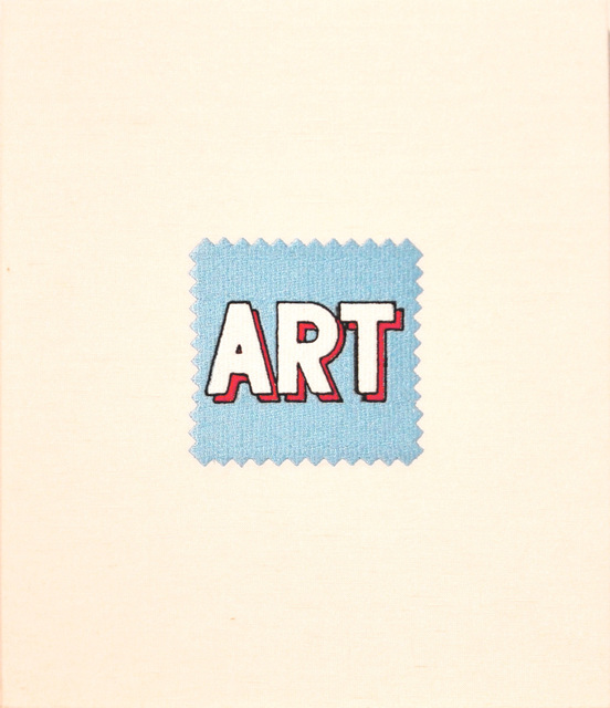 , 'Swatch, Lichtenstein (Blue),' 2006, McClain Gallery