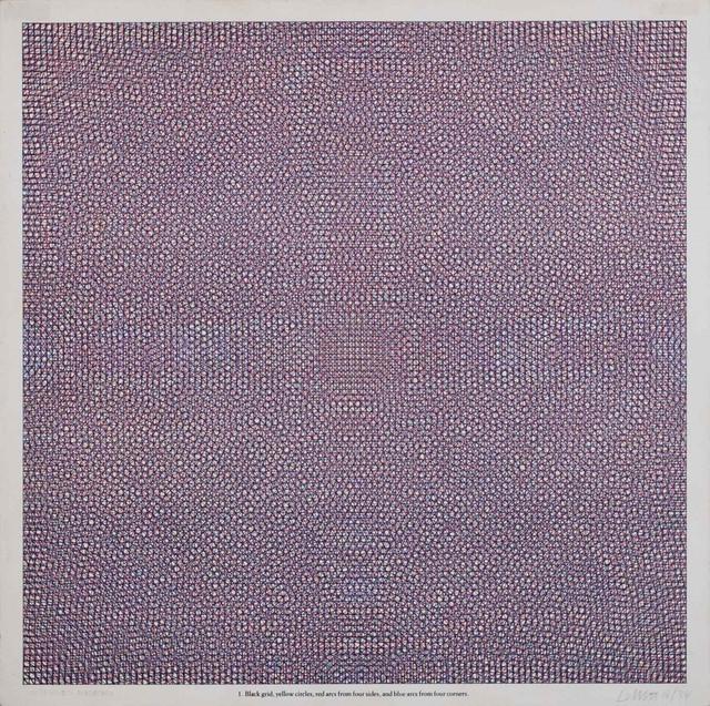Sol LeWitt, 'Black grid... 1', 1972, Finarte