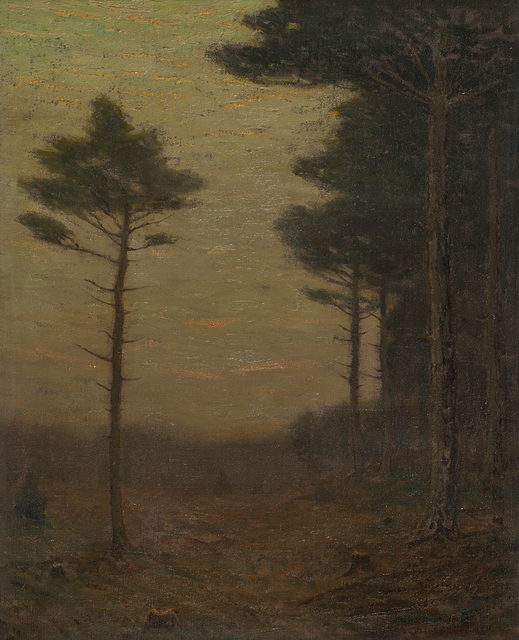 , 'The Afterglow,' ca. 1900, Montclair Art Museum