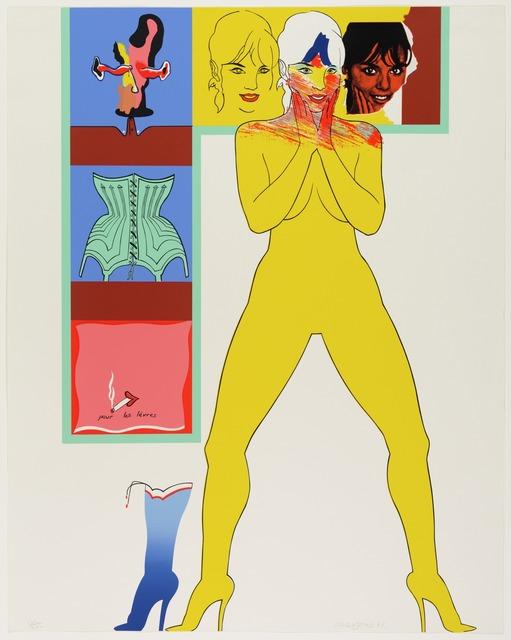 , 'Pour les Lèvres, from 11 Pop Artists, Volume II ,' 1965, The Cash Register Art Project