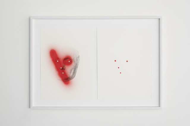 Giuseppe De Mattia, 'Fotografia come matrice del mio segno (Testa abruzzese), Bologna', 2017, MATÈRIA