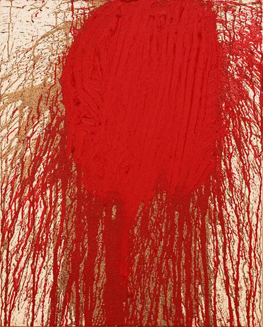 , 'Schüttbild,' 2018, Galerie Krinzinger