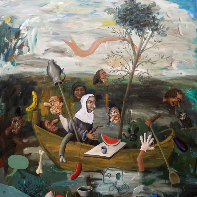 , 'La nave de los locos,' 2017, Álvaro Alcázar