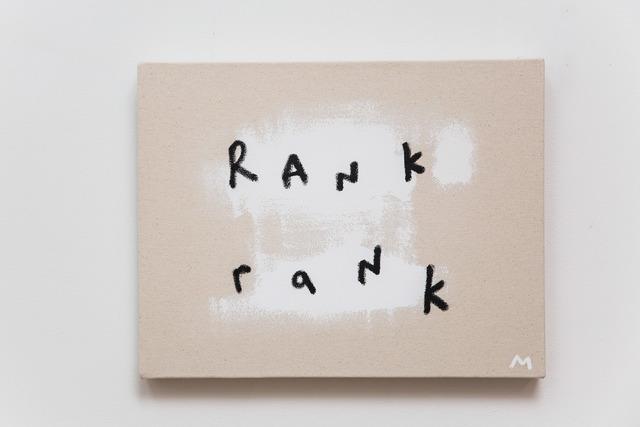 , 'Rank Rank,' 2017, Bryant Toth Fine Art