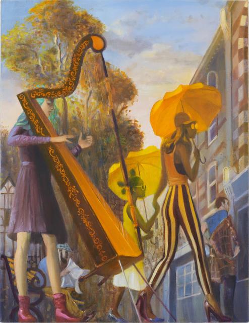 , 'Harpist,' 2016, Monica De Cardenas