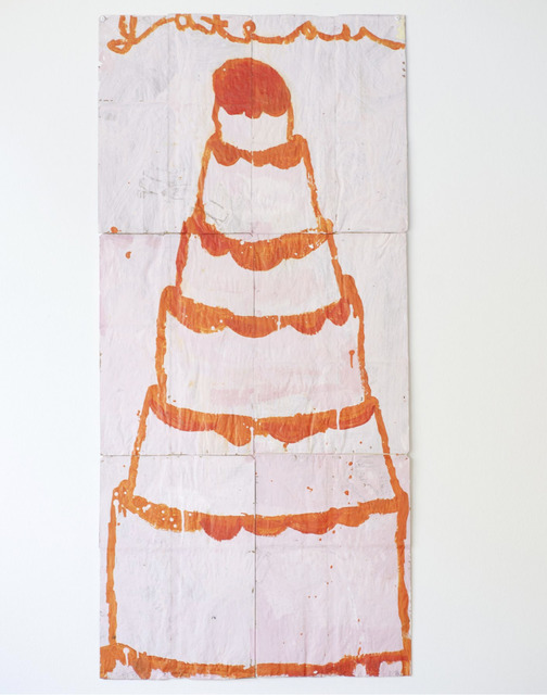 Gary Komarin, 'Cake (Orange on Pink)', 2018, Dimmitt Contemporary Art