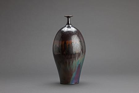, 'Vase, iron spot glaze,' , Pucker Gallery