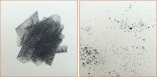 , 'Polvo de grafito 5,' 2015, CURRO