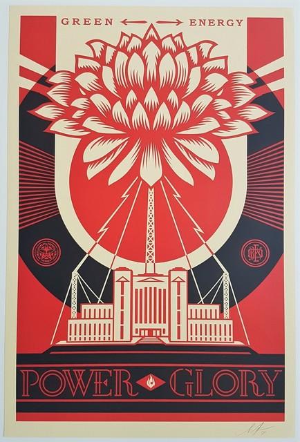 Shepard Fairey, 'Green Power', 2018, Cerbera Gallery